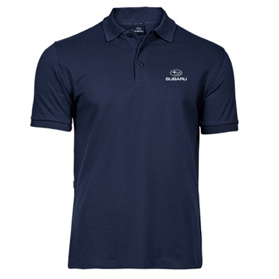 Lux Stretch Polo NAVY, Herr
