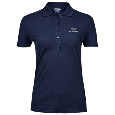 Lux Stretch Polo NAVY, Dam