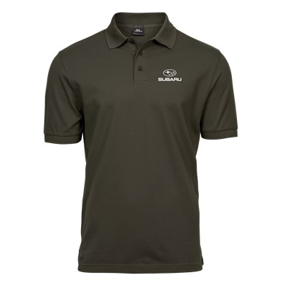 Lux Stretch Polo D-OLIVE, herr