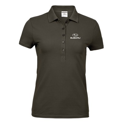 Lux Stretch Polo D-OLIVE, Ladies