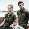 Lux Stretch Polo D-OLIVE, dam