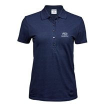 Lux Stretch Polo Denim, Ladies